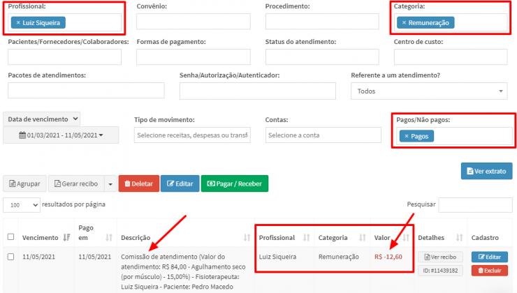 ZenFisio-Movimentos-Financeiro-Comissao-Fisioterapeuta