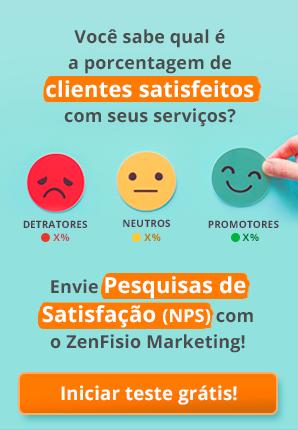 ZenFisio Marketing - Pesquisa de Satisfação - NPS